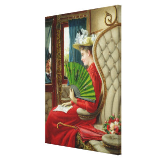 The Indiscretion, 1895 Gallery Wrapped Canvas