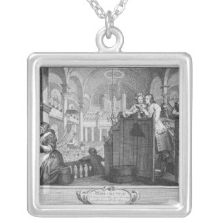 The Industrious 'Prentice Performing Silver Plated Necklace