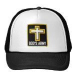 """The infamous """"God's Army"""" hat."""