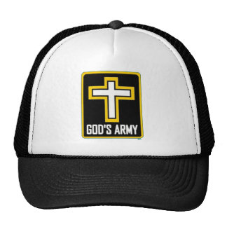 "The infamous ""God's Army"" hat. Cap"