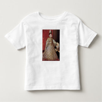 The Infanta Isabel Clara Eugenia  with the T-shirts