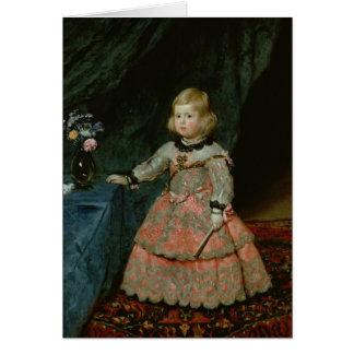 The Infanta Margarita Teresa Card