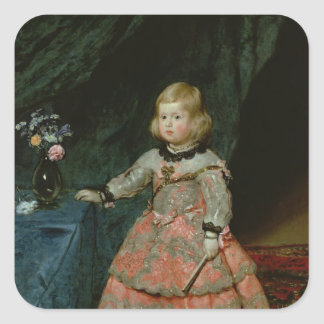 The Infanta Margarita Teresa Square Sticker