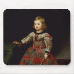 The Infanta Maria Margarita  of Austria Mouse Pad