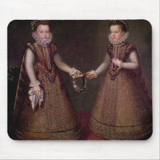 The Infantas Isabella Clara Eugenia Mouse Pad
