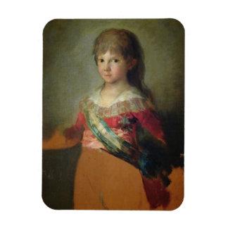 The Infante Don Francisco de Paula Antonio, 1800 ( Rectangular Photo Magnet