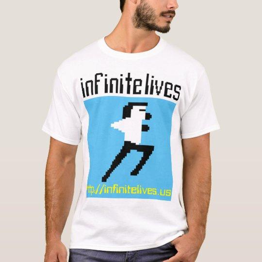 The Infinite Lives Podcast Shirt: Light Edition T-Shirt