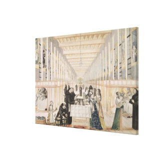 The Infirmary of Sisters of Charity during a Stretched Canvas Prints
