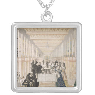 The Infirmary of Sisters of Charity during a Silver Plated Necklace