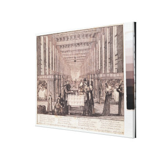 The Infirmary of the Sisters of Charity Stretched Canvas Print