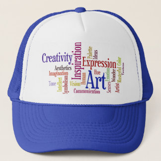 The Ingredients of Art - For Artist, Student Trucker Hat