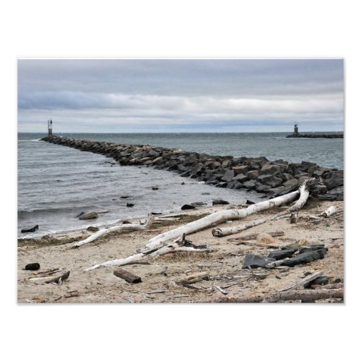 The Inlet at Lake Montauk Point Photograph