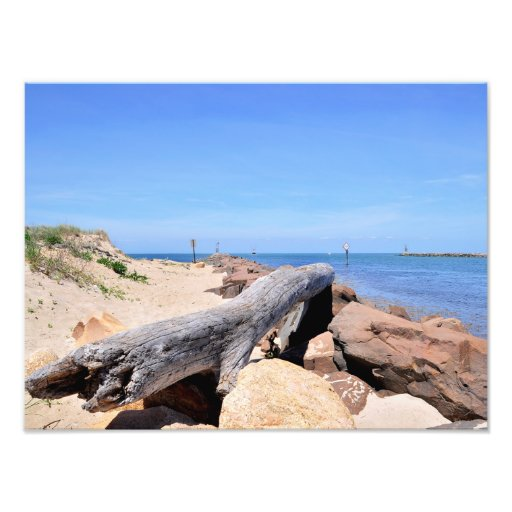 The Inlet at Lake Montauk Point Photographic Print