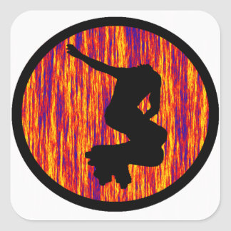 THE INLINE FREQUENCY SQUARE STICKER
