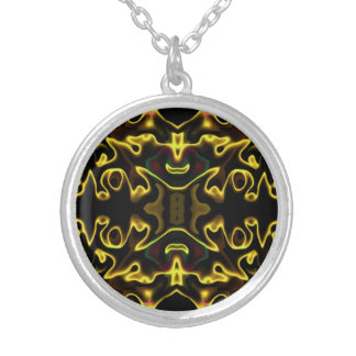 the inner being Modern Art N Round Pendant Necklace