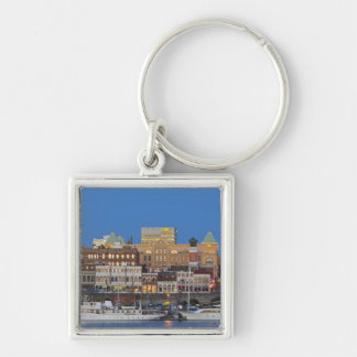 The inner harbour at Victoria British Columbia Key Ring