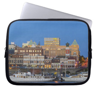 The inner harbour at Victoria British Columbia Laptop Sleeve