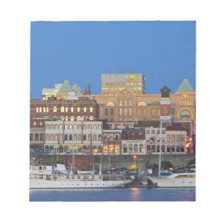 The inner harbour at Victoria British Columbia Notepad