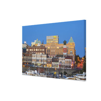 The inner harbour at Victoria British Columbia Stretched Canvas Prints