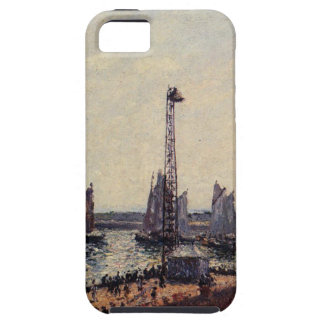 The Inner Port and Pilots Jetty, Havre by Camille iPhone 5 Case