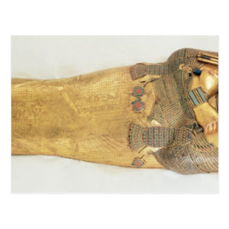 The innermost coffin of the king post card