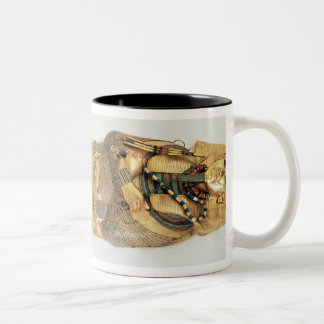 The innermost coffin of the king Two-Tone coffee mug
