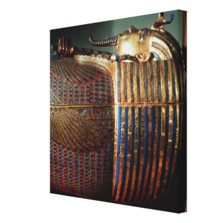 The innermost coffin of Tutankhamun Canvas Print