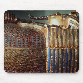 The innermost coffin of Tutankhamun Mouse Mat