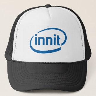 The innit range trucker hat