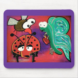The insect crew mouse pad