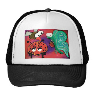 The insect crew trucker hat