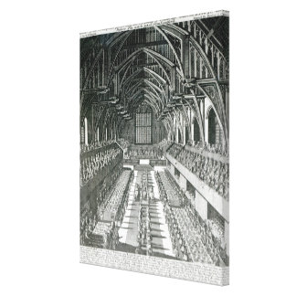 The Inside of Westminster Hall Gallery Wrapped Canvas