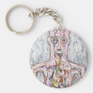 The Inside out Anatomical Force Commander Basic Round Button Key Ring