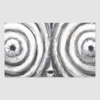 The Insomnia Penguin (odd surrealism) Stickers