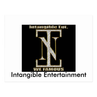 the INT symbol 2, Intangible Entertainment Post Card