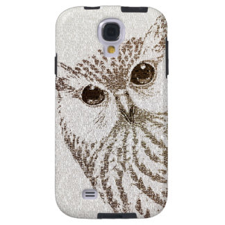 The Intellectual Owl - typography art - Samsung Galaxy S4 Case