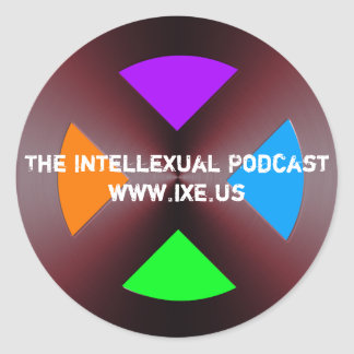 The IntelleXual Podcast Sticker