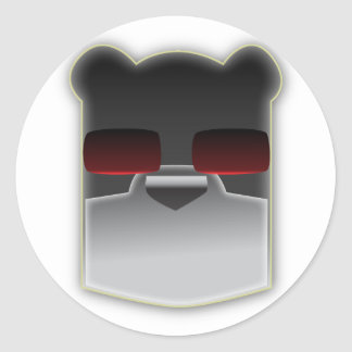 The Intelligent Bear Stickers