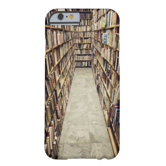 The interior of a second-hand bookshop Sweden. Barely There iPhone 6 Case