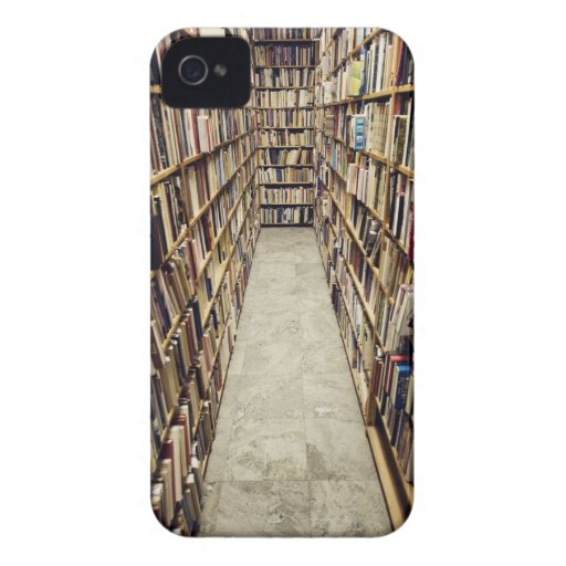 The interior of a second-hand bookshop Sweden. iPhone 4 Case