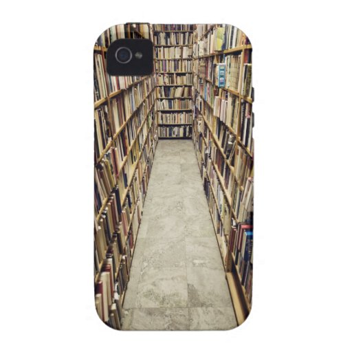The interior of a second-hand bookshop Sweden. iPhone 4/4S Cover