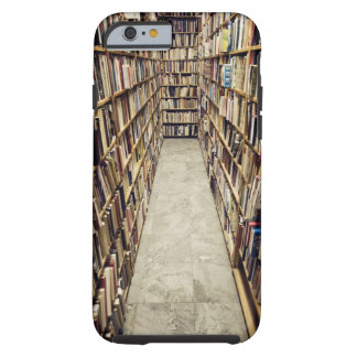 The interior of a second-hand bookshop Sweden. iPhone 6 Case