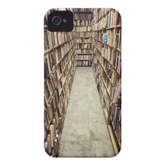 The interior of a second-hand bookshop Sweden. iPhone 4 Case-Mate Case