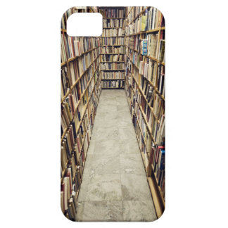 The interior of a second-hand bookshop Sweden. iPhone 5 Cover