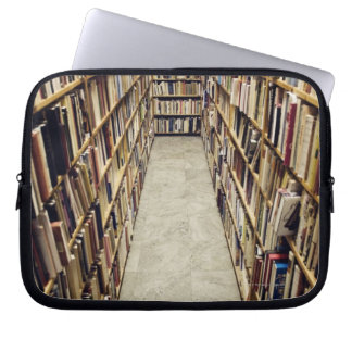 The interior of a second-hand bookshop Sweden. Laptop Sleeve