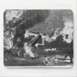 The Interior of Fort Sumter During the Mouse Pad