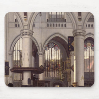 The Interior of Oude Kerk, Amsterdam, c.1660 Mouse Mat