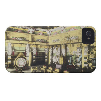 The interior of the Iyemitsu Temple at Nikko, c.18 iPhone 4 Cover