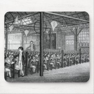 The Interior of the Royal Free School Mouse Mat