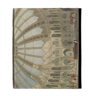 The Interior of the Stables, from 'Views of The Ro iPad Folio Cases